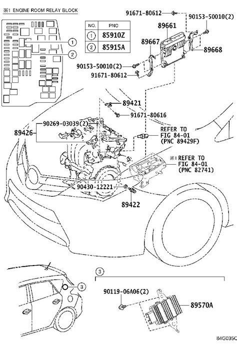 Toyota Corolla iM Engine Control Module. Electrical