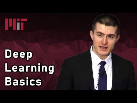 Buxone: Deep Learning Basics: Introduction and Overview