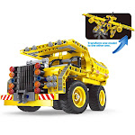 AZ Trading & Import PS680 Engineering Bricks Construction Kit for Educational Building Dump Truck & Airplane 361 Piece