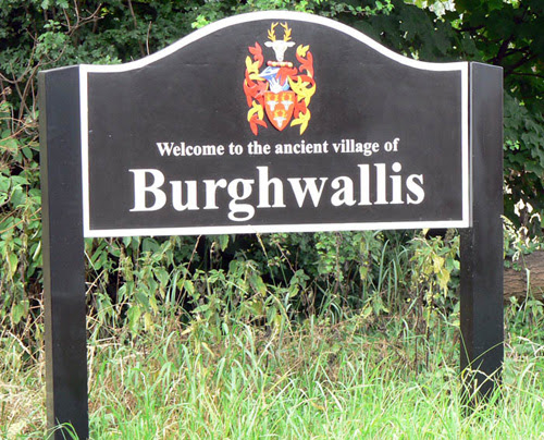 Burghwallis Village sign.