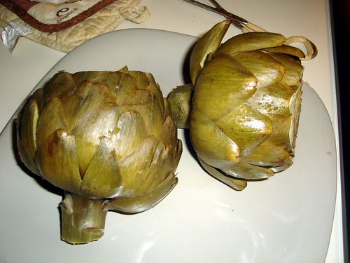 Cooked Artichokes
