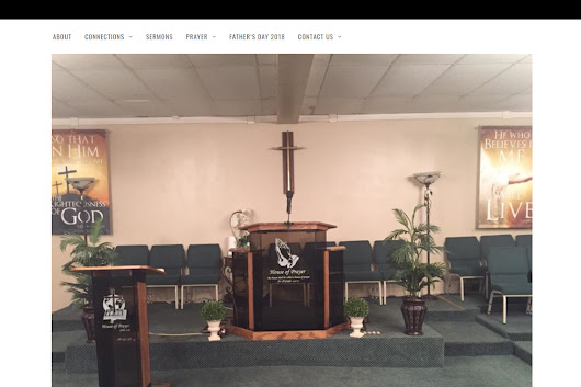 Congrats House of Prayer Church, Jersey City, NJ – Best Church Websites Award Winner! - Best Church Websites of 2018