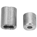 Campbell B7675454 2 Cable Ferrule & 2 Stop,1/4 inch