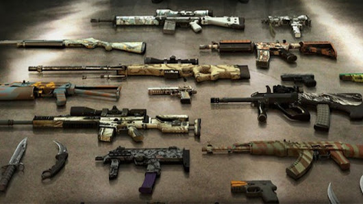 The Counter-Strike Player Who's Giving Up A $7,500 Gun Collection