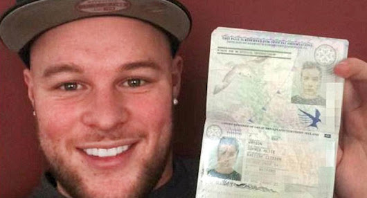 Bearded Bouncer Got Through Airport Security With Girlfriend's Passport