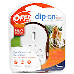 Off Clip On Mosquito Fan Circulated Repellent Starter Kit - 1