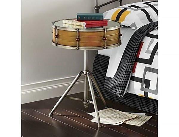 кофейный столик из барабана