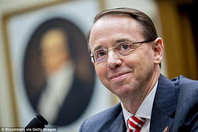 Last week, Deputy Attorney General Rod Rosenstein (pictured) refused to tell the House Judiciary Committee whether the FBI had paid or offered to pay for the dossier