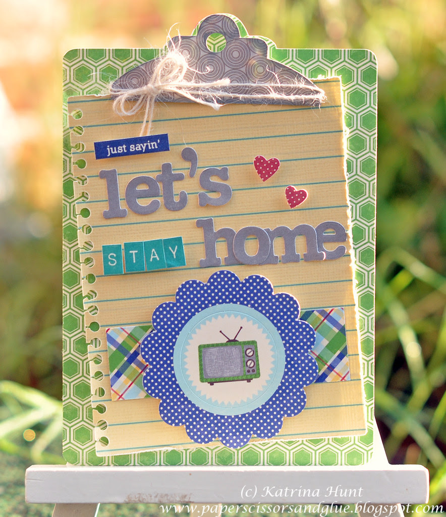 Let's Stay Home Card