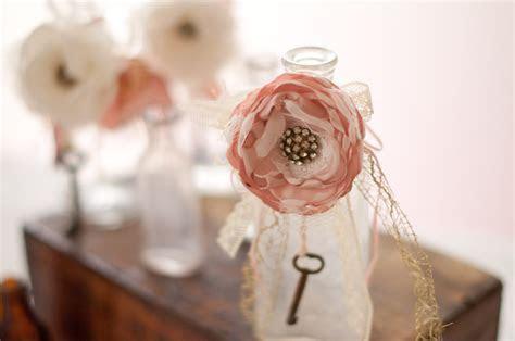 Blush and Ivory Vintage Wedding Decor   OneWed.com
