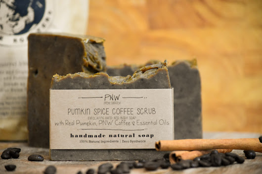 Pumpkin Spice Coffee Scrub Soap - FALL GIVEAWAY! - PNW from Scratch