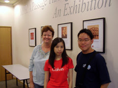 (KL's Writer's Circle) Swifty, Lim May Zhee and Sharon Bakar