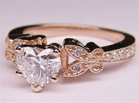 Best 25  Heart shaped wedding bands ideas on Pinterest