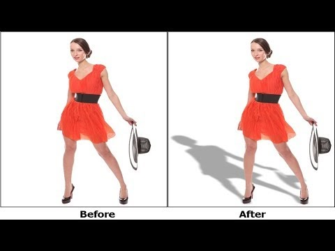How to Make Image Drop Shadow in Photoshop