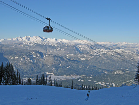 Pacific Coast Mountain Range - Whistler BC