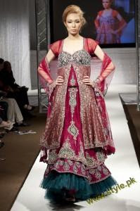 Latest Wedding Wears By Bombay House At PFW UK 2011 2 style.pk