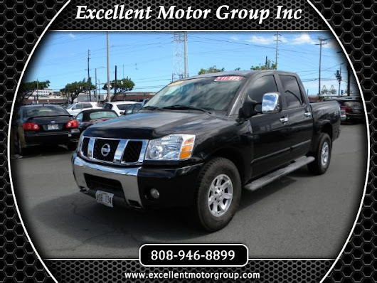 Used 2004 Nissan Titan LE Crew Cab 4WD for Sale in Honolulu HI 96817 Excellent Motor Group Inc