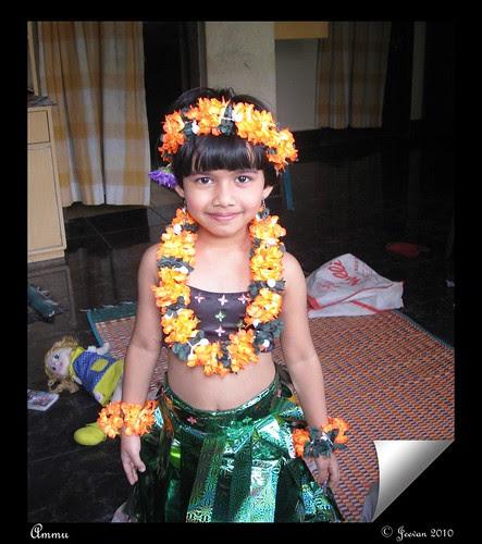 Fancy dress Ammu