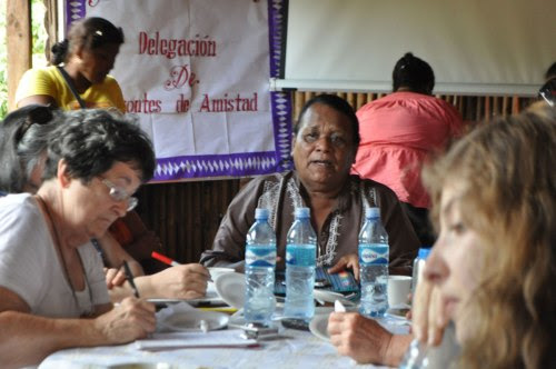 Alvolino Cox Molina shares his knowledge of Nicaraguan history.