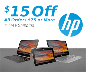 Get 15% Off at HP