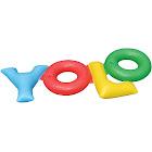 Swimline 90631 Yolo Double Ring Float