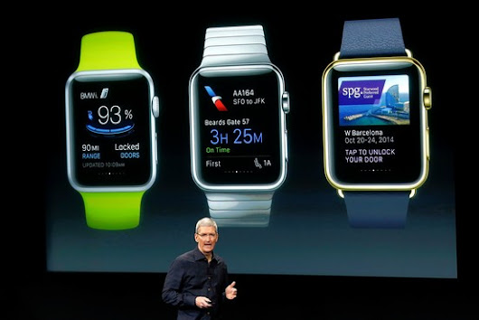 Challenge of Apple Watch: Defining Its Purpose - WSJ