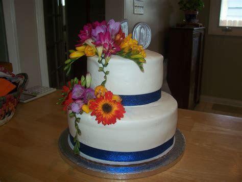 10th Wedding Anniversary Cake   Anniversary ideas   Pinterest