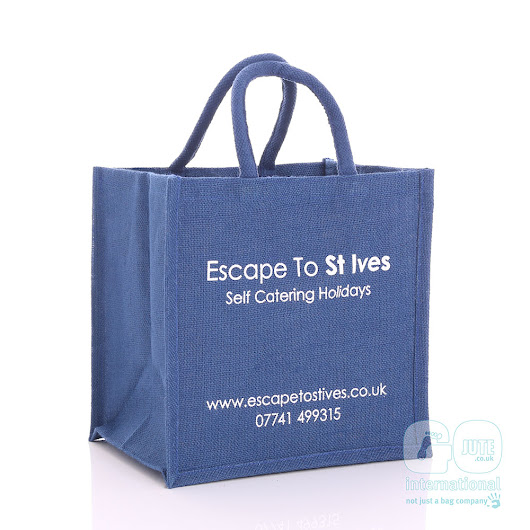 Escape To St Ives Jute Bags | GoJute