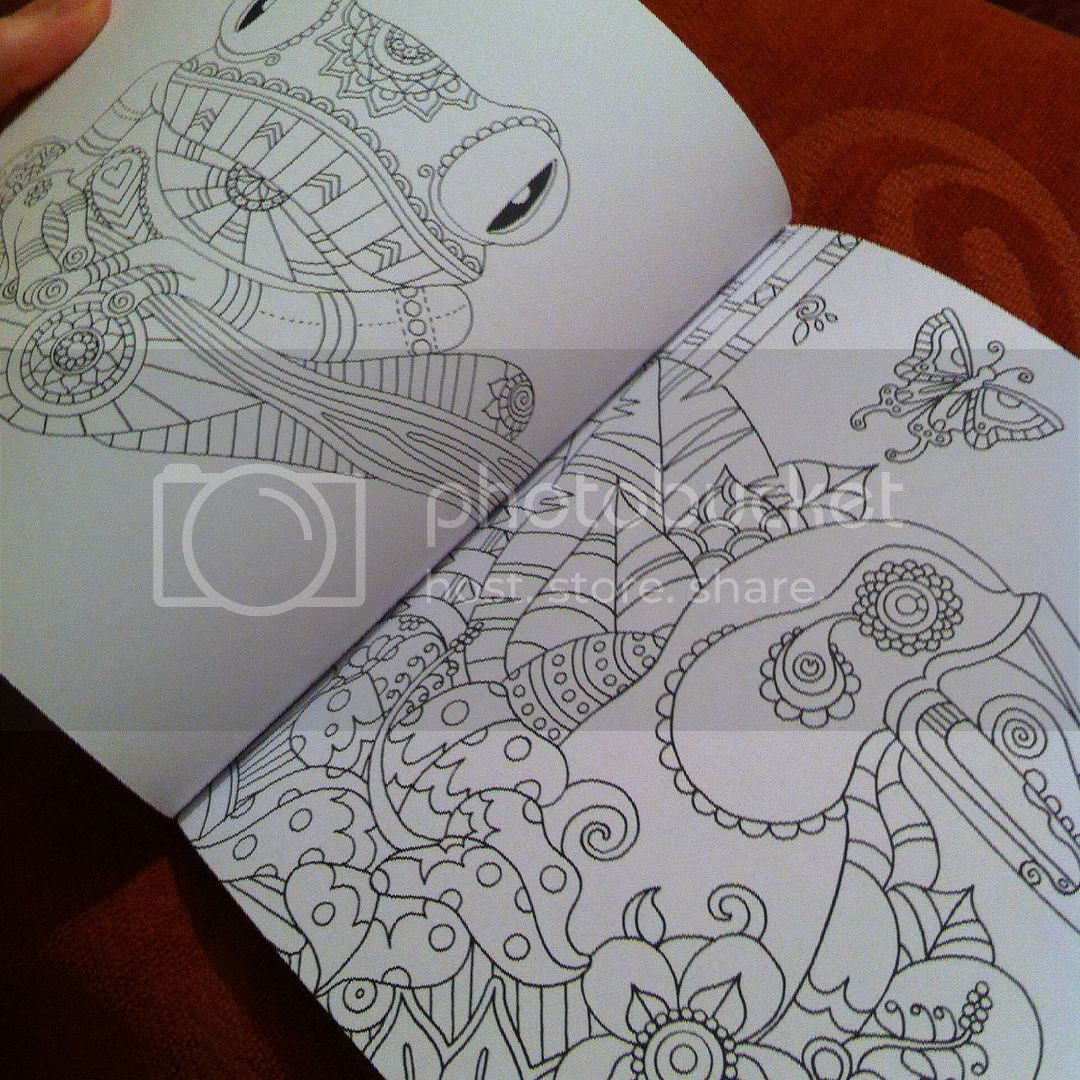 Colour Me Mindful Tropical - Example