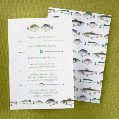 the best wedding invitation blog fishing themed wedding invitations