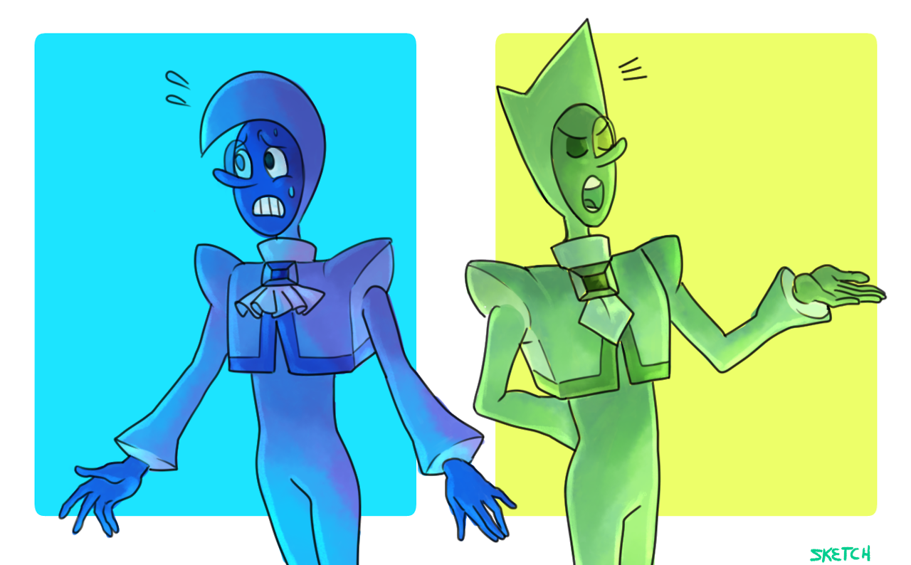 Zircons! many thanks to @onyxdraws for help with color palettes. :)