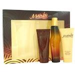 Mambo 3 Piece Gift Set For Men With 3.4 Oz EDC Spray + 3.4 Oz Body Moisturizer + 3.4 Oz Hair & Body Wash