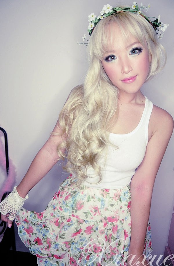 yay or nay?] pastel coloured or platinum blonde hair for an asian