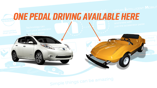 Nissan Is Introducing Single Pedal Driving Like In An Amusement Park Car