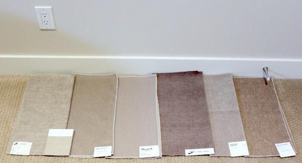 Family-friendly Upholstery Fabrics + Basement Sectional Update ...