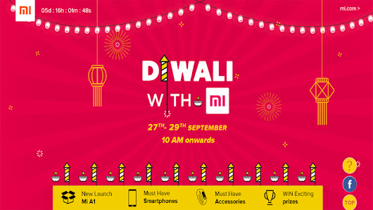 Xiaomi Mi Diwali Sale: Discounts on phones, accessories and more