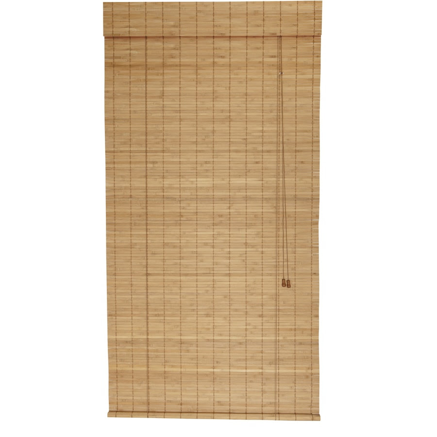 Shop Style Selections Spice Light Filtering Bamboo Roll-Up ...