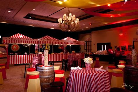 carnival theme bar mitzvah party ideas style ideas  bar