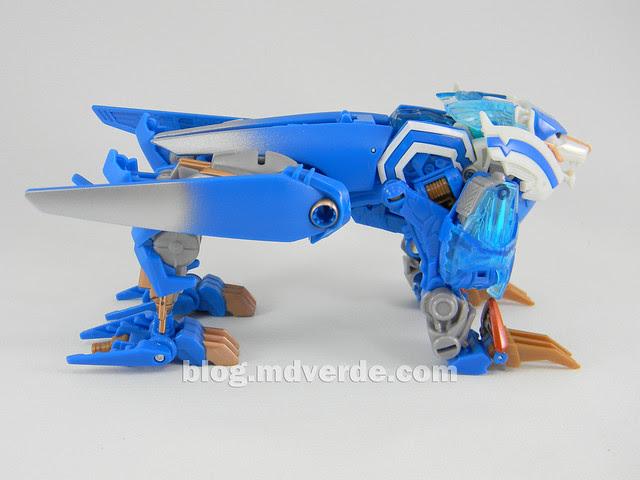 Transformers Thundertron Voyager - Prime RID - modo alterno