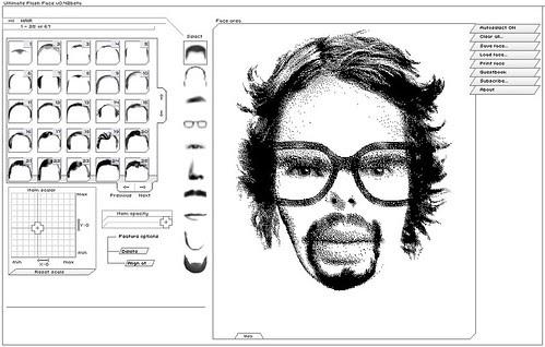 3615 mavie: Machine à portraits robots