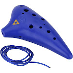 12 holes plastic ocarina flute alto c musical instrument with music score for music lover and beginner
