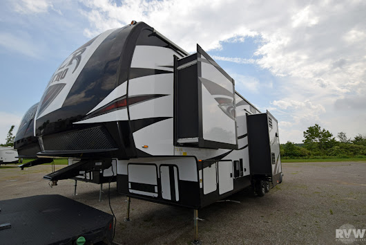 New 2018 XLR Nitro 36TI5 Toy Hauler Fifth Wheel by Forest River at RVWholesalers.com