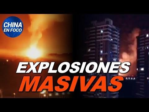 Explosiones masivas sacuden la capital de China. Pánico bancario desata ...