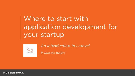 Where to start with application development for your startup