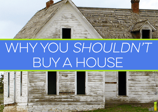 Why You Shouldn't Buy A House - Frugal Rules