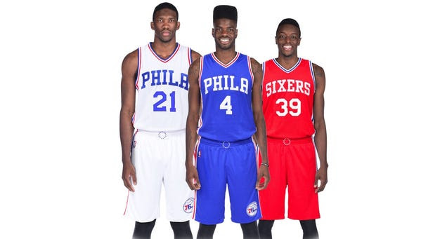 Sixers Unveil New Uniforms, And They're Sharp