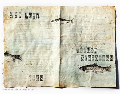 Yellow Submarine in white - Journal
