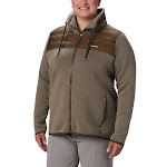 Columbia Women's Northern Comfort Hybrid Jacket - 1X - Olive Green