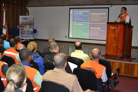 Sedec-RJ realiza o I workshop sobre o Marco de Ação de Sendai