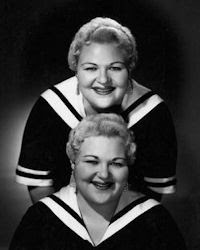 Marilyn and Roz Borden